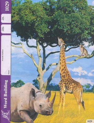 Word Building PACE 1029, Grade 3 (4th Edition)  -