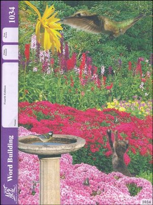 Word Building PACE 1034, Grade 3, (4th Edition)   -