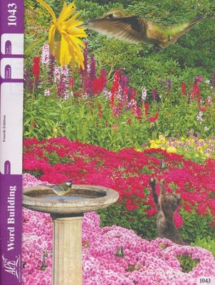 Word Building PACE 1043, Grade 4 (4th Edition)  -