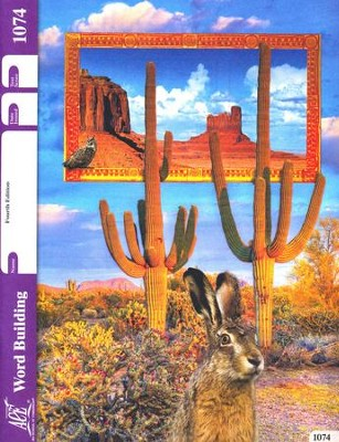 Word Building PACE 1074, Grade 7 (4th Edition)  -
