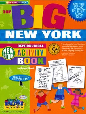New York Big Activity Book, Grades K-5  -     By: Carole Marsh