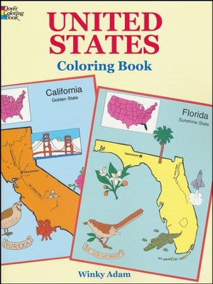 United States Coloring Book  -     By: Adam Winky