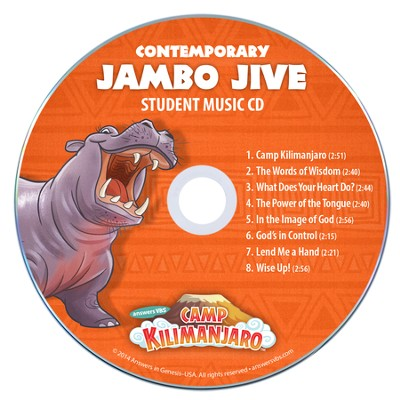Camp Kilimanjaro VBS Student Music Audio CDs (Pack of 10;  Contemporary Version)    -