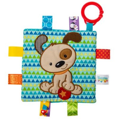 Crinkle Me Brother Puppy Taggies  -