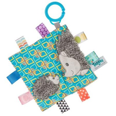Crinkle Me Heather Hedgehog Taggie  -