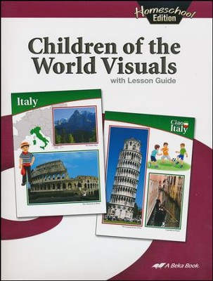 Abeka Homeschool Children of the World Visuals   -