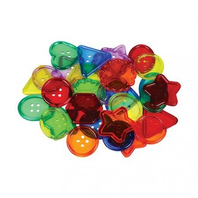 See-Through Big Buttons (Package of 30)   -