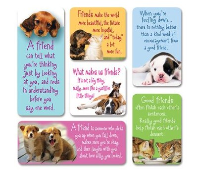 Cat and Dog Magnets, Set of 6  -