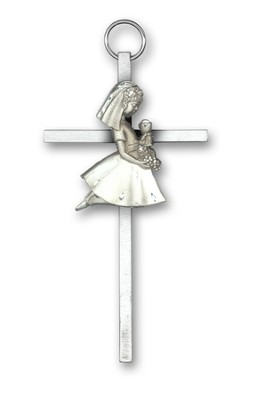 Communion Wall Cross, Girl   -