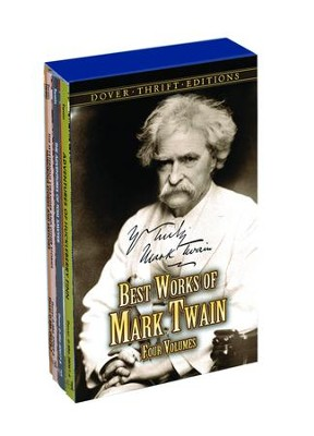 Best Works of Mark Twain Boxed Set, 4 Volume Boxed Set  -     By: Mark Twain