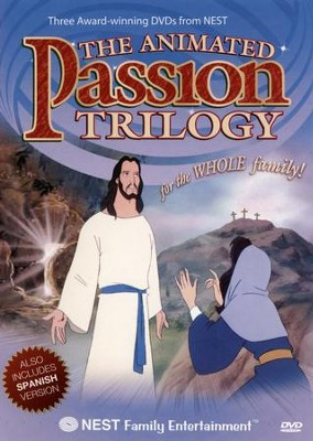 The Animated Passion Trilogy, Three DVDs   -