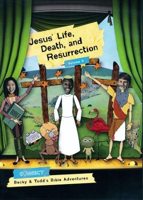Jesus' Life, Death, and Resurrection: Volume 5, DVD   -