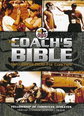 The FCA Coach's Bible: HCSB Devotional Bible for Coaches, Black Imitation Leather  -