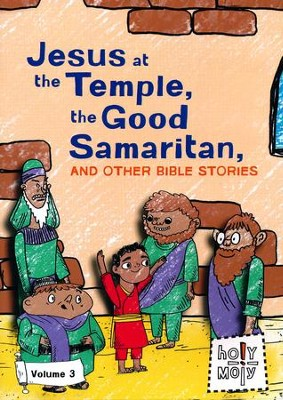 Jesus at the Temple, the Good Samaritan, and Other Bible Stories: Volume 3 - DVD  -