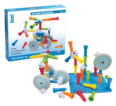 Action-Stackers Little Builder Set  -
