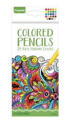 Colored Pencils for Adults, Pack of 24  -