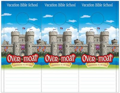 Over the Moat VBS: Theme Doorknob Hangers, 48 pack   -