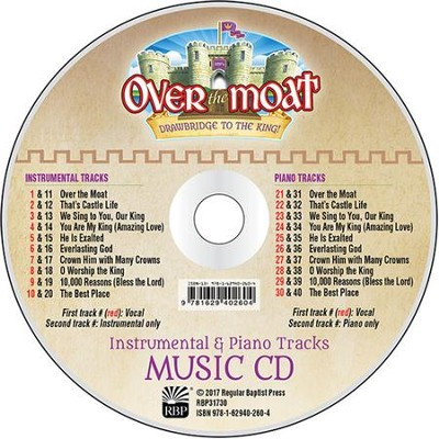 Over the Moat VBS: Music CD Set   -