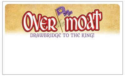 Over the Moat VBS: Nametags, 48 pack   -