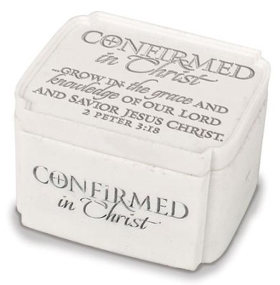 Confirmed In Christ Trinket Box  -