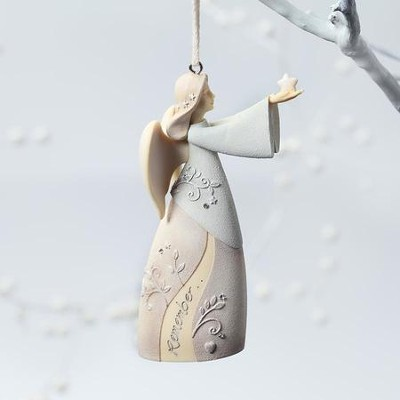 Remembrance Angel Ornament   -     By: Karen Hahn