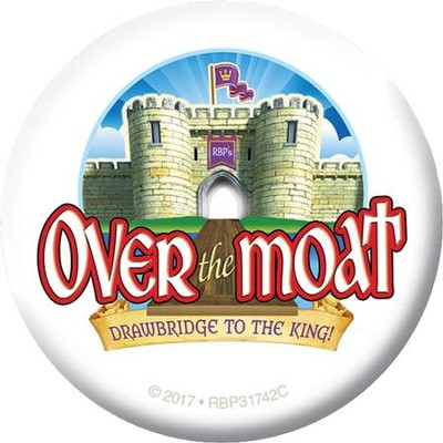 Over the Moat VBS: Logo Buttons, 20 pack   -