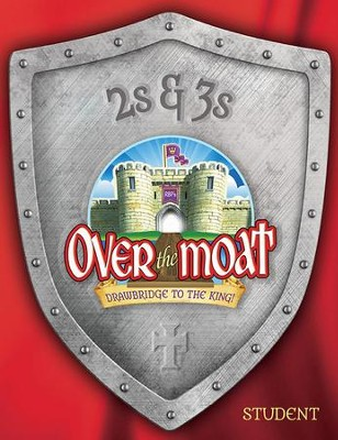 Over the Moat VBS: 2s & 3s Student Activity Sheets, NKJV   -