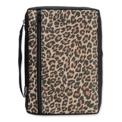 Leopard Bible Cover, Extra Large  -