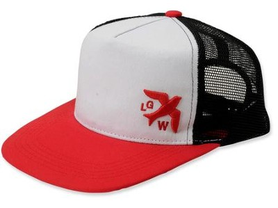LETGO, Trucker-Red-Bird, Cap     -