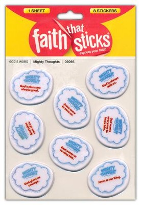 Mighty Thoughts Puffy Stickers  -