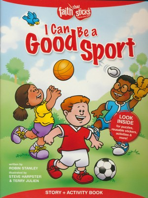 I Can Be a Good Sport, Story & Activity Book  -     By: Robin Stanley     Illustrated By: Terry Julien, Steve Harpster