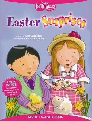 Easter Surprises, Story & Activity Book  -     By: Laura Ring Derico     Illustrated By: Phyllis Harris