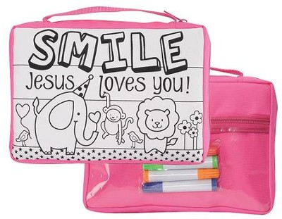 Smile, Jesus Loves You Bible Cover  -