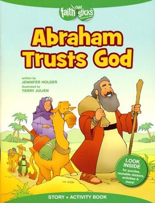 Abraham Trusts God, Story and Activity Book  -     By: Jennifer Holder     Illustrated By: Terry Julien