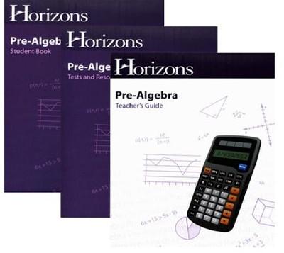 Horizons pre algebra complete set 9780740322426 christianbook horizons pre algebra complete set fandeluxe Gallery