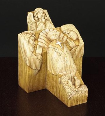 Nativity Cross Pillar Set   -