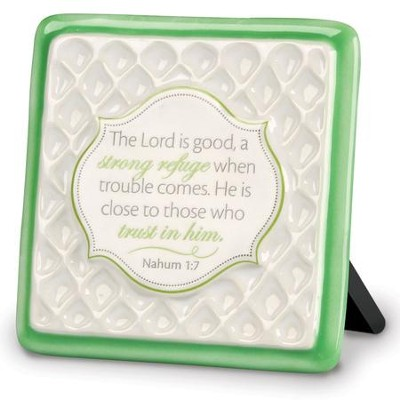The Lord is Good Plaque  -