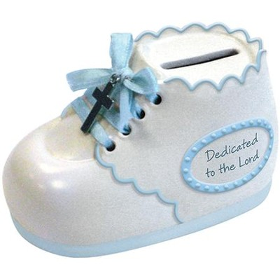Dedicated To the Lord, Bootie Bank, Blue  -