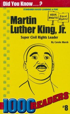 Martin Luther King, Jr. Reader  -     By: Carole Marsh