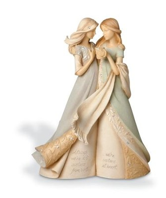 Like A Sister Figurine   -     By: Karen Hahn
