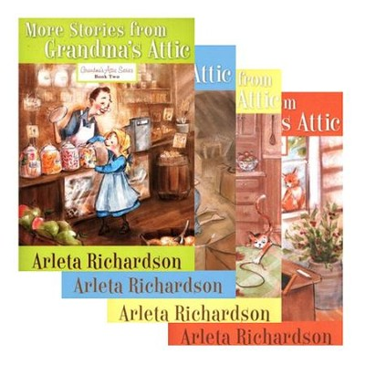 Grandma's Attic Series, 4 Volumes   -     By: Arleta Richardson