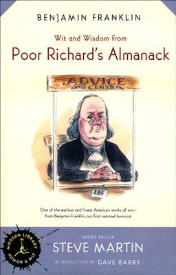 Poor Richard's Almanack   -     By: Benjamin Franklin