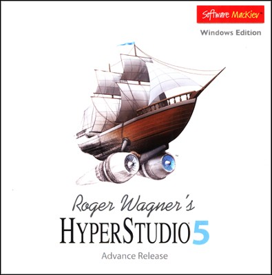 HyperStudio 5 on CD-Rom (for Windows)   -