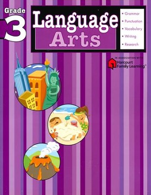 Language Arts Flash Kids Workbook, Grade 3   -     By: Flash Kids Editors