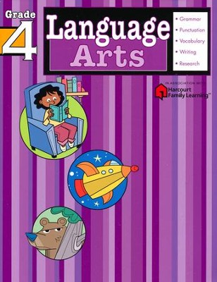 Language Arts Flash Kids Workbook Grade 4 Flash Kids Editors 9781411404120 Christianbook Com