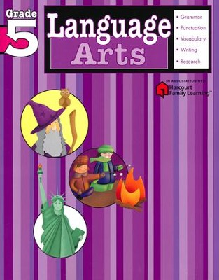 Language Arts Flash Kids Workbook, Grade 5   -     By: Flash Kids Editors