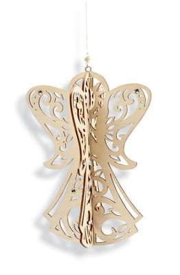 Angel Ornament, 3D  -     By: Lauren Picciuca