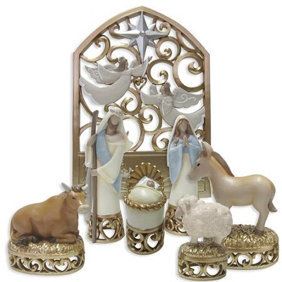 Legacy of Love Nativity Set 7 Pieces   -     By: Kim Lawrence