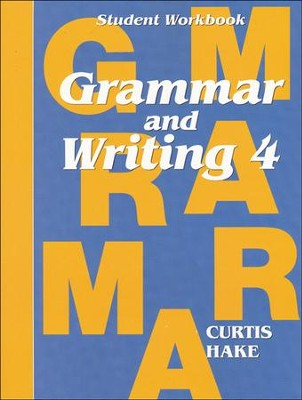 Saxon Grammar & Writing 1st Edition Grade 4, Student Workbook  -