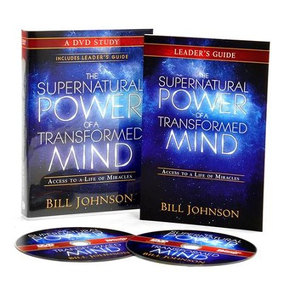 Supernatural Power of a Transformed Mind: A DVD Study: Access to a Life of Miracles  -     By: Bill Johnson